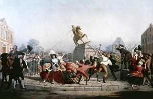 King George III Statue - 1776